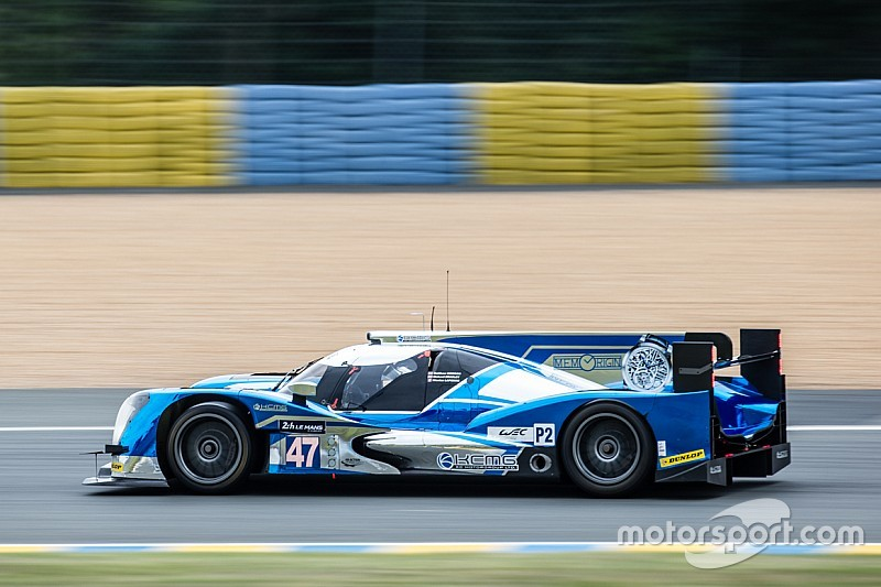 The ORECA 05 LM P2 and KCMG on provisional pole at Le Mans 24H