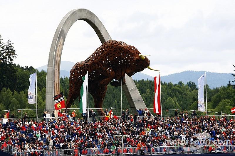 Гран При Австрии посетили 120 тысяч человек