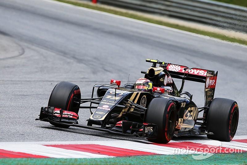 Maldonado s'est fait peur en Autriche
