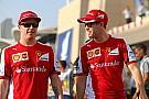Vettel: I want Raikkonen to stay at Ferrari