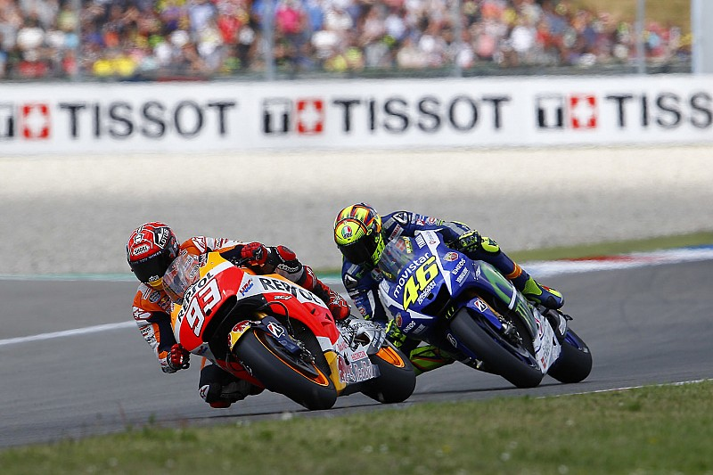 Rossi in the right in Marquez clash – Lorenzo