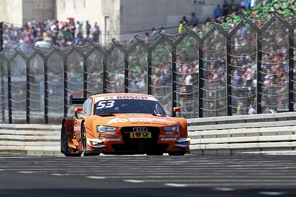 Dieter Gass (Audi) mécontent du comportement des pilotes au Norisring