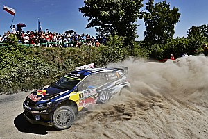WRC Leg report Rally Poland Day 2: Ogier fends off Mikkelsen challenge