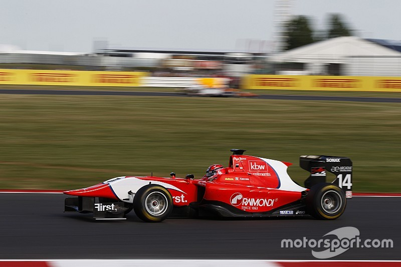 Silverstone GP3: Ceccon controls sprint race for maiden win