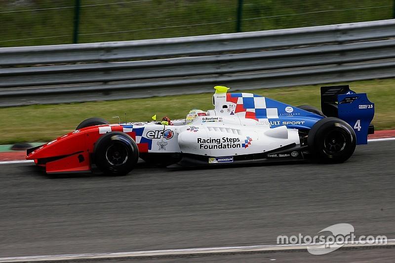 Q1 - Rowland en pole position après une séance disputée