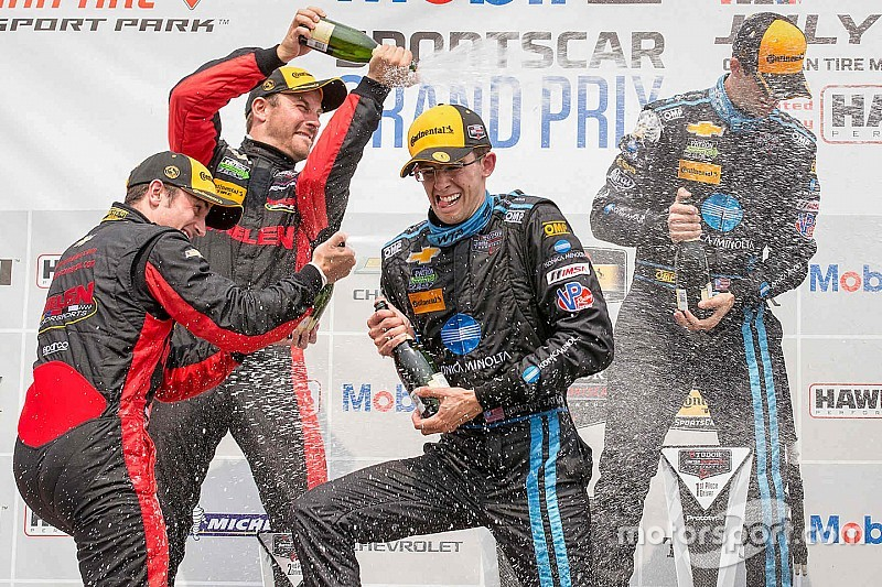 UPDATED: Taylor brothers take Corvette to CTMP victory lane
