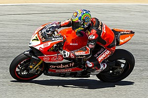 World Superbike Practice report Davies ends opening day at Laguna Seca in charge