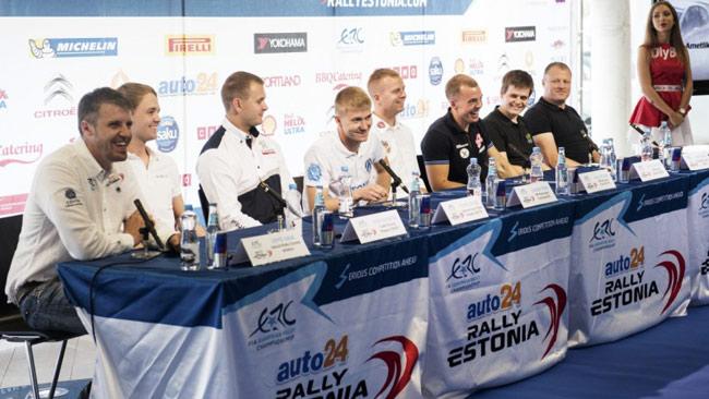 """I piloti estoni: """"Vogliamo vincere il rally di casa!"""""""