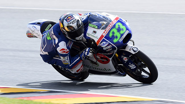 Top Ten per i piloti del team Gresini in Germania