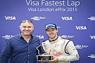 A Sam Bird l'ultimo Visa Fastest Lap Trophy del 2015