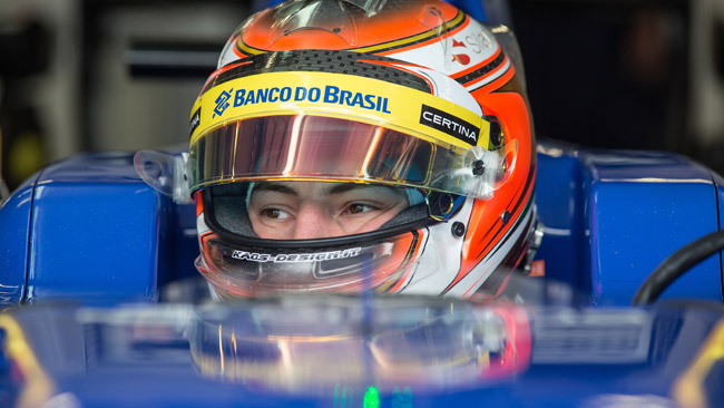 Marciello sulla Sauber nelle libere di Silverstone