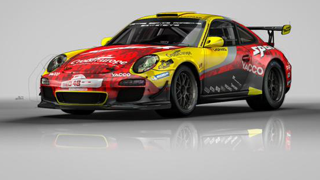 Ecco la livrea della Porsche di Dumas per Ypres