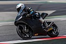 Romano Fenati e la KTM al lavoro a Barcellona