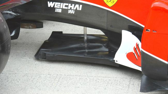 Ferrari: nel T-tray ci sono due nuove paratie verticali