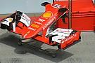 Ferrari: portata la stessa ala anteriore del Canada