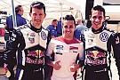 Dovizioso accanto ad Ogier sulla Polo WRC nei test