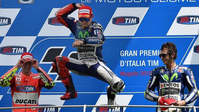 Lorenzo eguaglia i podi di Agostini nella top class