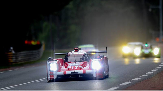 Test Le Mans: Porsche ancora in vetta con Hartley