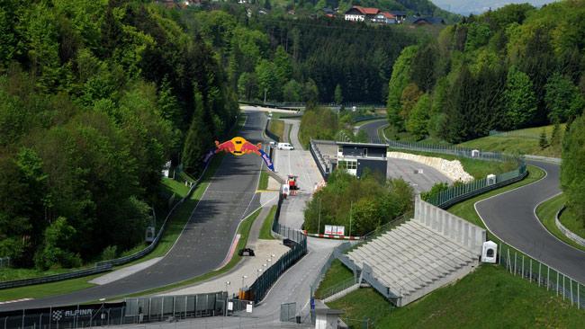 Il programma per il weekend del Salzburgring