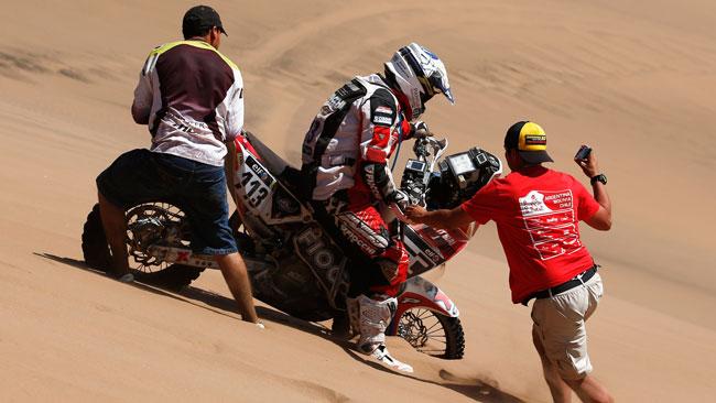 """Dakar, Brioschi: """"Questa è stata la mia tappa più bella"""""""