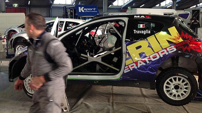 Travaglia guida la pattuglia del TRT al Motor Show