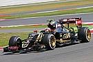Maldonado compte sur la gestion des pneus
