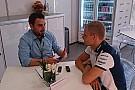 مقابلة خاصة مع فالتيري بوتاس خلال سباق البحرين 2015
