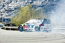 Aksel Lund Svindal races Andreas Mikkelsen in Norway