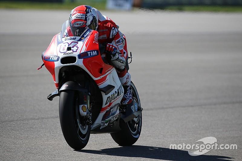 Indianapolis, Q1: le Ducati di Petrucci e Dovi in Q2