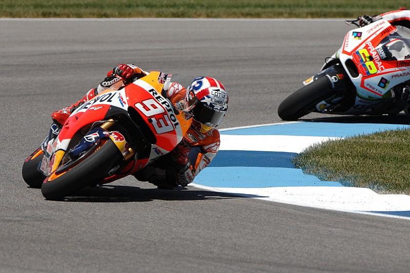 Troisième pole-position consécutive à Indianapolis pour Marc Márquez