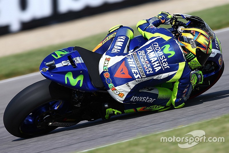 """Rossi admits """"I'm not very fast here"""" at Indianapolis"""
