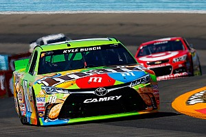 NASCAR Cup Breaking news Kyle Busch loses the race, but eyes the Chase