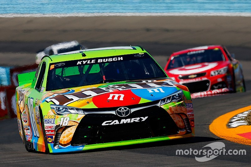 Kyle Busch loses the race, but eyes the Chase