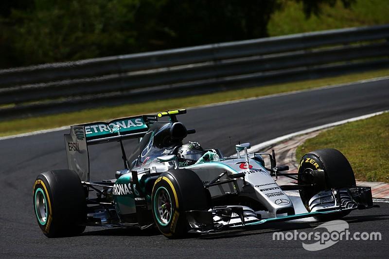 "Rosberg - ""Ca me démange"" depuis la Hongrie"