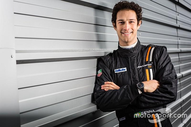 Bruno Senna, vocero de nuevo programa para pilotos de McLaren-Video