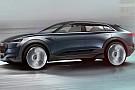 Audi dévoile des images de son concept SUV e-tron quattro