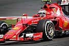 Ferrari: le pance non sono più svasate sulla SF15-T
