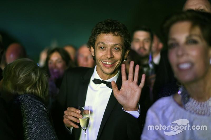 Valentino Rossi devient membre du prestigieux BRDC
