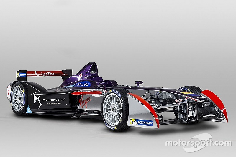 DS Virgin reveals season two livery