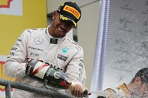 Formule 1 Actualités Hamilton égale Senna au nombre de podiums -