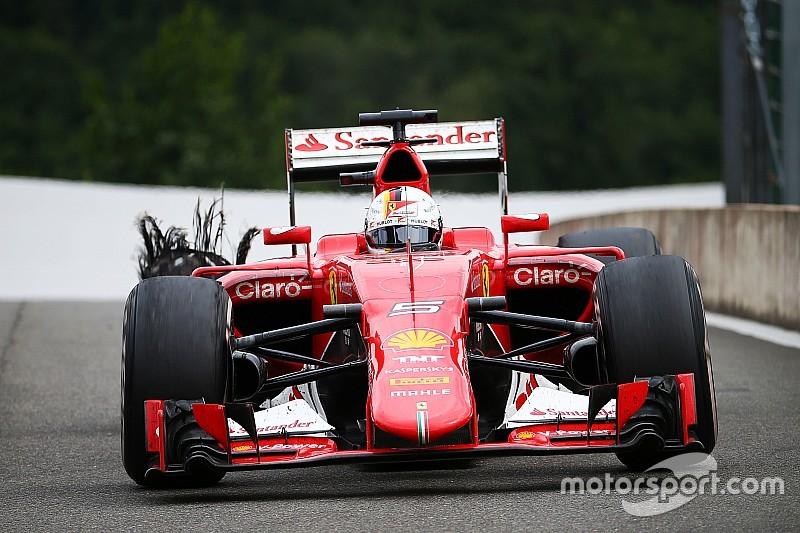 Ferrari et Pirelli doivent discuter de la défaillance du pneu de Vettel