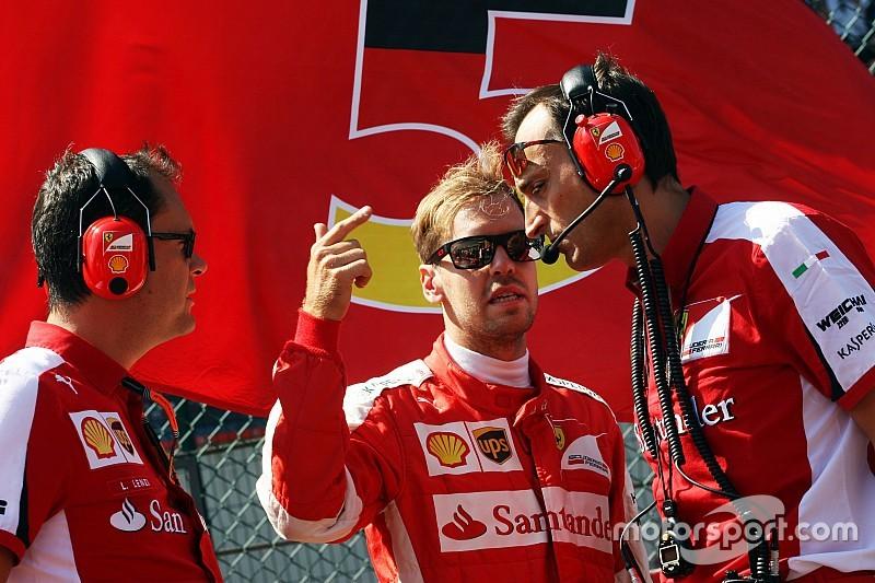 Vettel rompt le silence après sa colère de Spa