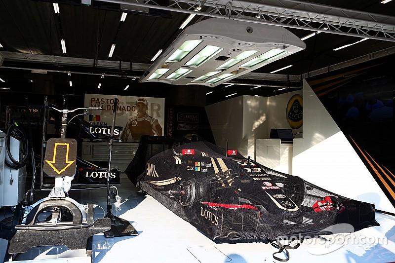 Машины Lotus все еще находятся в Спа