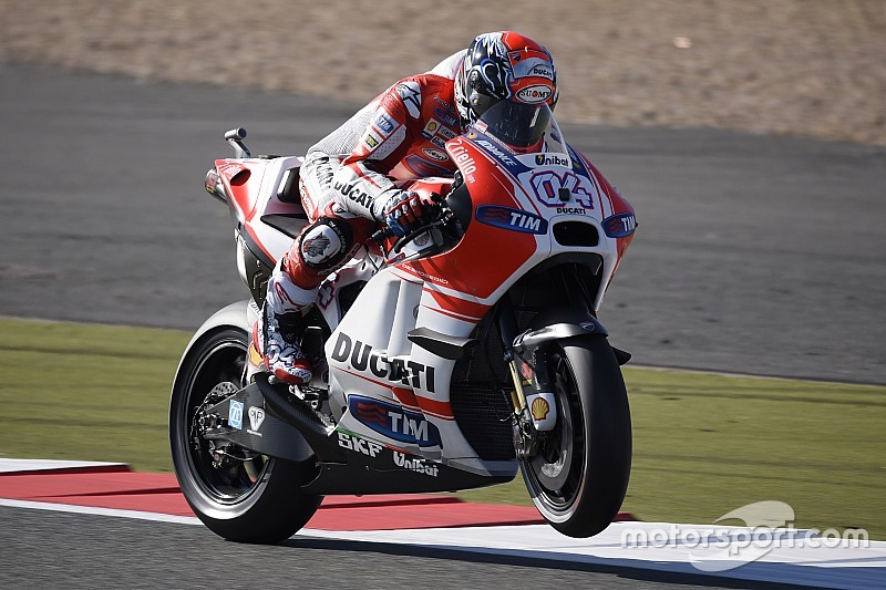 Dovizioso finishes on the podium with third place at Silverstone