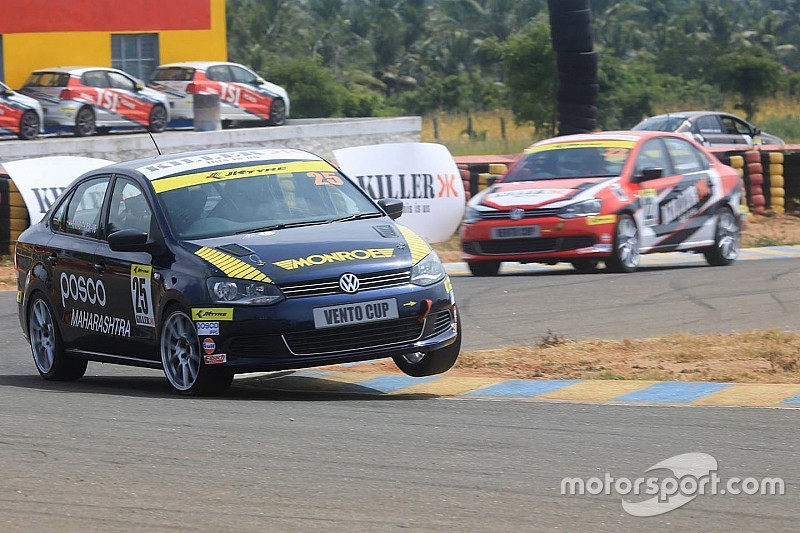 Reddy wins incident-filled race one