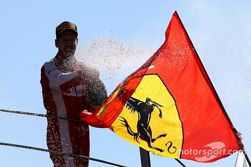 Ferrari: A podium in Monza