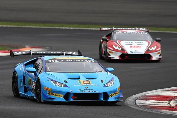 Lamborghini Super Trofeo Consolation podium amid troubled weekend for Ebrahim