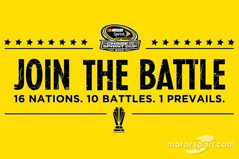 """NASCAR urging fans to """"join the battle"""" in this year's Chase"""