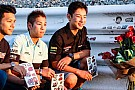 I giapponesi hanno reso omaggio a Shoya Tomizawa