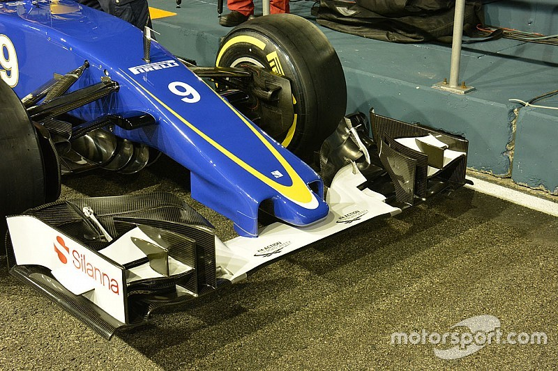 Sauber introduces new short nose